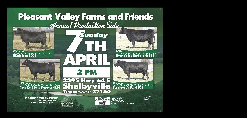 Pleasant Valley Farms | Raising Winners to be Champions